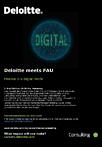 "Zum Artikel ""Deloitte meets FAU – Finance in a Digital World 