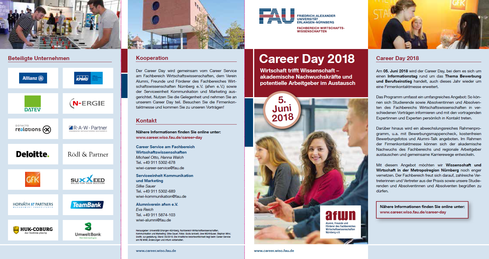 "Zum Artikel ""Career Day 2018"""